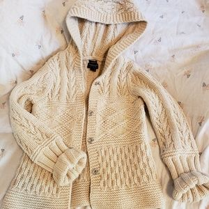 American Eagle Outfitters knit cardigan hoodie